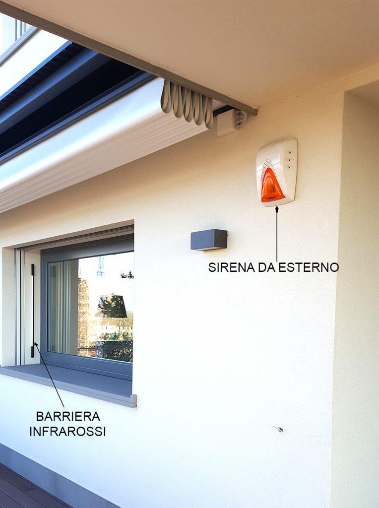 Installazione sistemi di allarme antifurto senza fili - Installazione allarme casa ...
